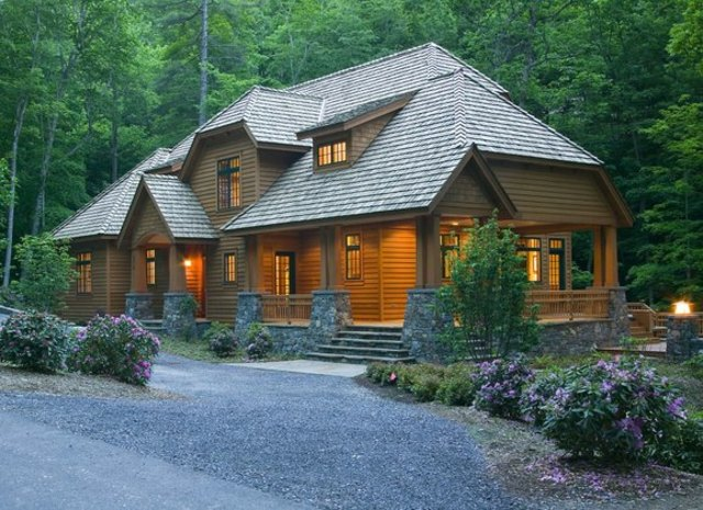 Custom-designed and built Artisan House by Corlis Woodworks - look at the entire stunning interior on CustomMade.com