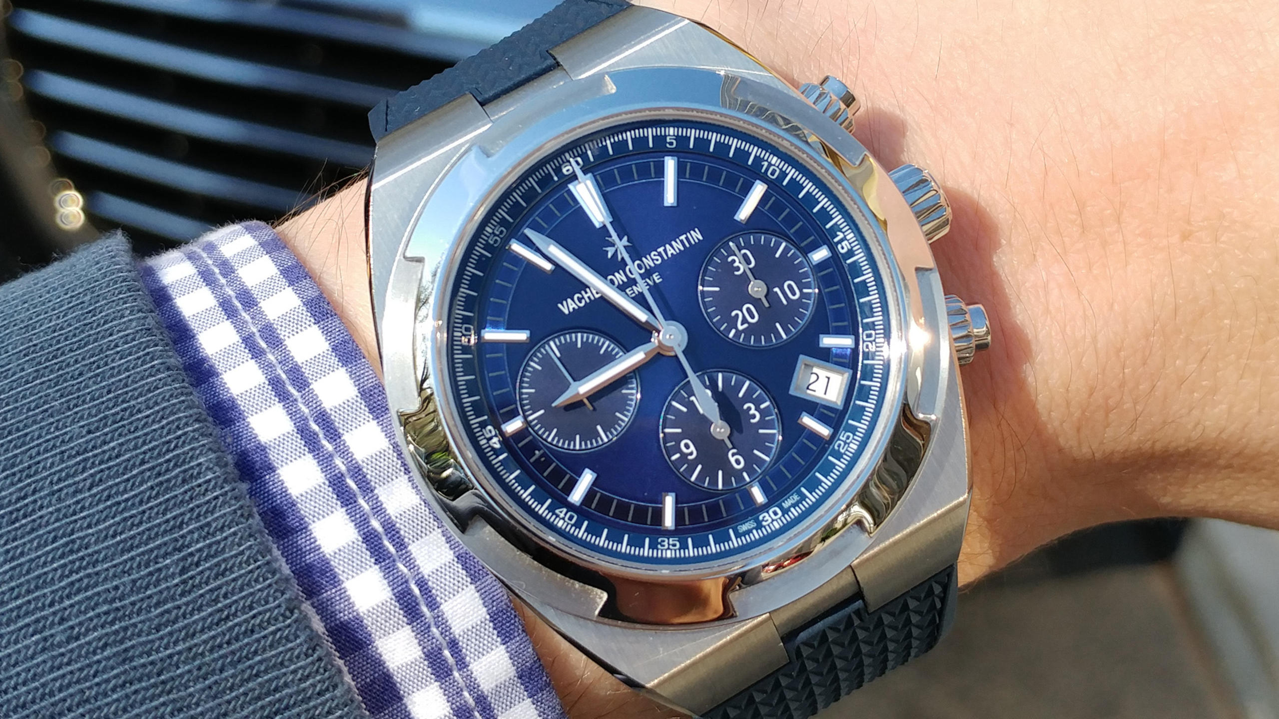 On The Wrist: The Vacheron Constantin Overseas Chrono