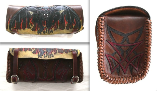 Motorcycle Tool Bag by 2nd Chance Custom Leather at CustomMade.com
