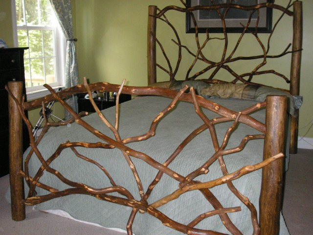 Headboard and Footboard by Rhodo Creations at CustomMade.com