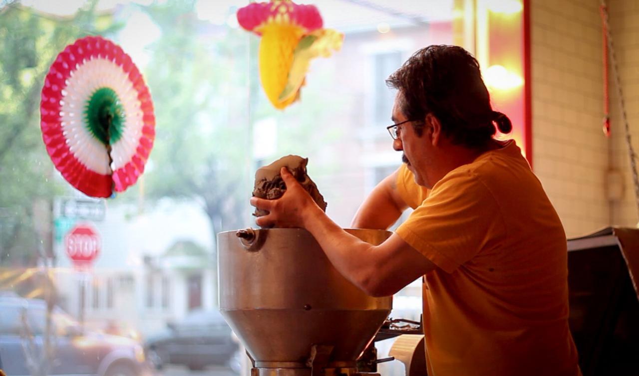 Tortillas con sabor a M�xico