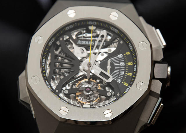 Minute-Repeater History: Audemars Piguet's Royal Oak Concept Supersonnerie