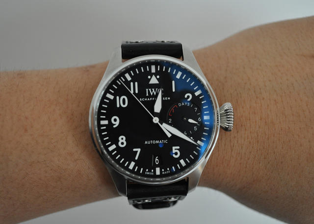 On The Wrist: The IWC Big Pilot Ref. 5009