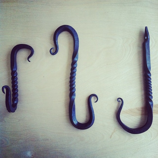 "Custom ""Nudibranch"" Hooks hand made by our talented CustomMade staff!!"