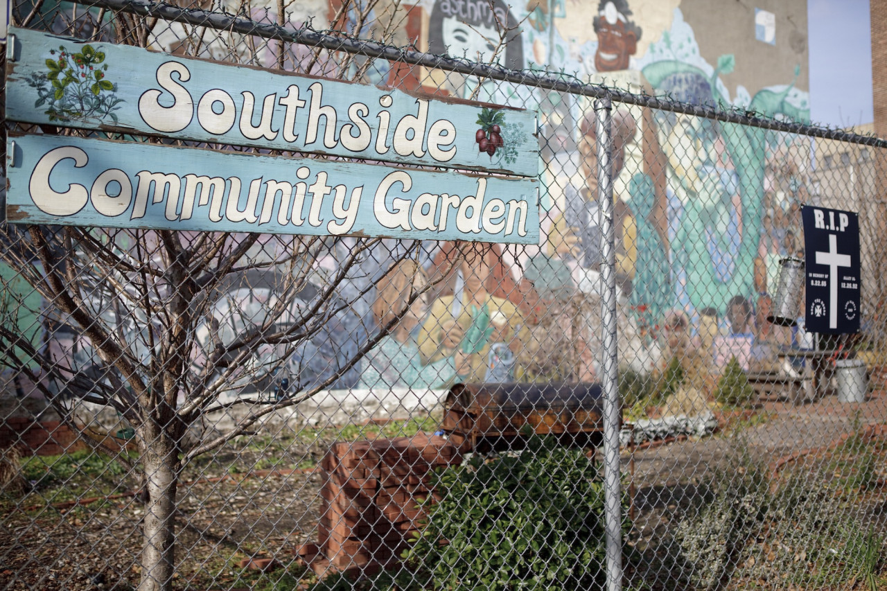 The Southside Community Garden (Photo by Marisa Wong)