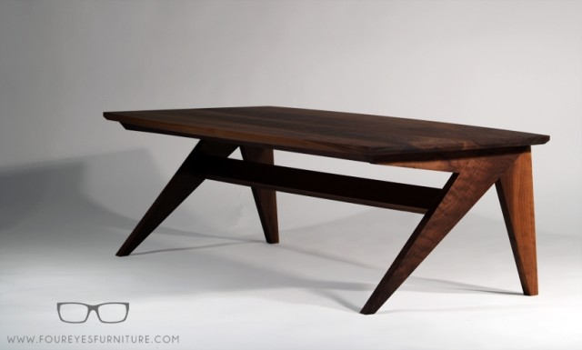 """Silver Fox"" Coffee Table by foureyes furniture at CustomMade.com"