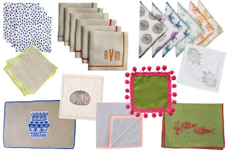 Cocktail-napkins-soirees-party-entertaining-linen-color-decor-classic-matchbook-mag
