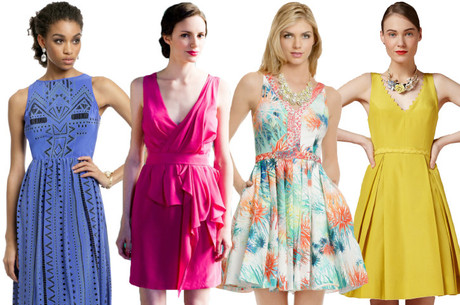 Wedding-guest-dresses-colorful-bridesmaid-loverly-matchbookmag