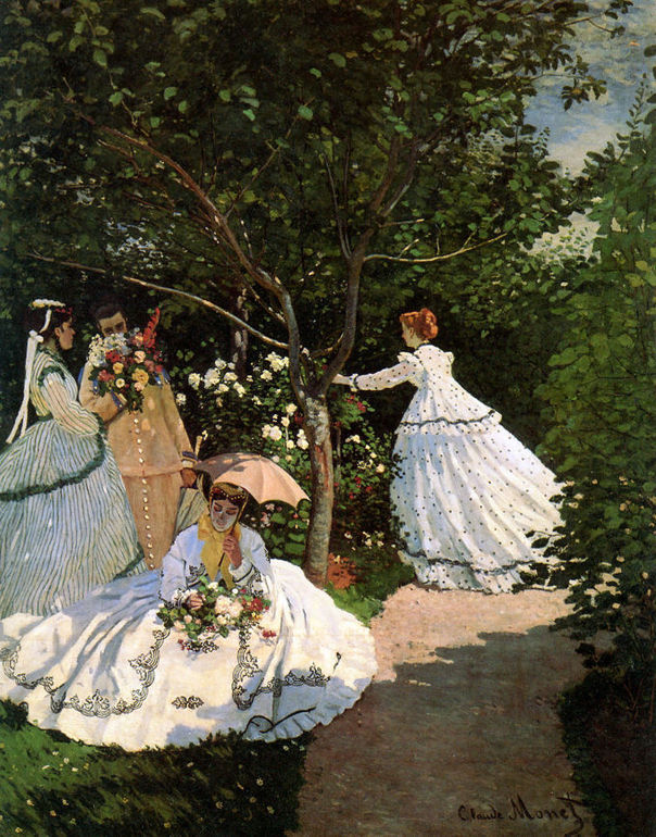 Women-in-the-garden-claude-monet-metropolitan-impressionism-fashion-modernity