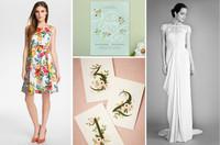 Garden-wedding-petal-pusher-bride-dress-bridesmaid-outdoors-matchbook-loverly