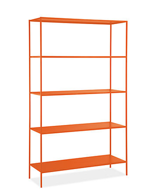 Bookshelf-orange-modern