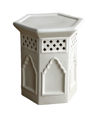 Moroccan-garden-stool-white-horchow