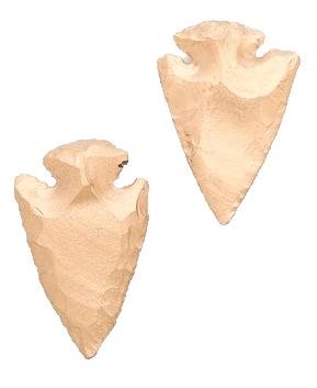 Arrowhead-earrings