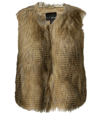 Faux-fur-vest-buckle