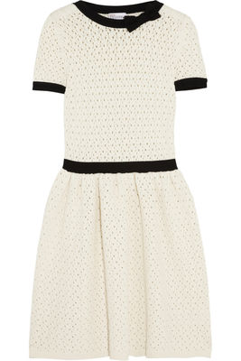 Red-valentino-open-knit-dress