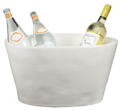 tub bucket drink products elm c west metal outdoor