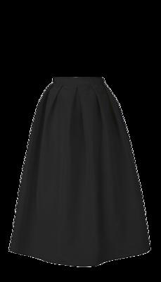 Silk-faille-skirt