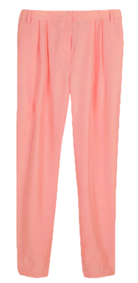 Silk-pleated-pant