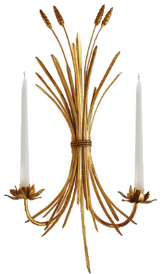 Wheat-sconce