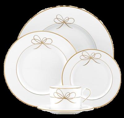 Bow-dinnerware