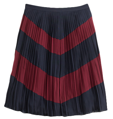 Chevron-skirt