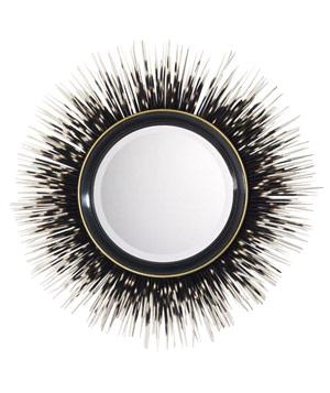 Porcupine-quill-mirror