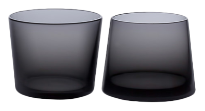 Black-whiskey-glass-set