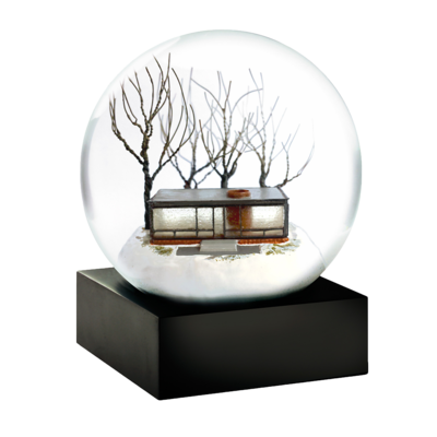 Glass-house-snow-globe