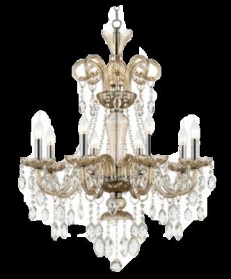 Isabella Crystal Linear Chandelier
