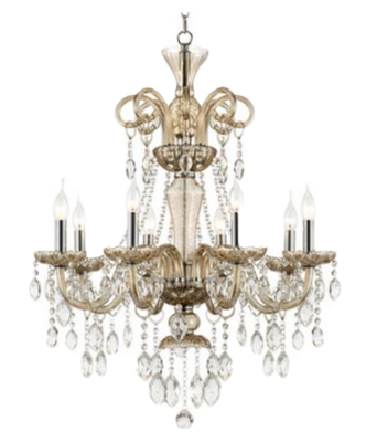 Traditional crystal chandelier matchbook magazine crystal chandelier lamps plus mozeypictures Image collections