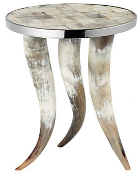 Cheyenne-horn-table-z-gallerie