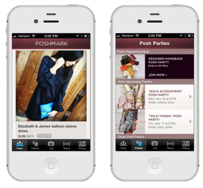Poshmark app matchbook magazine for Apps similar to poshmark