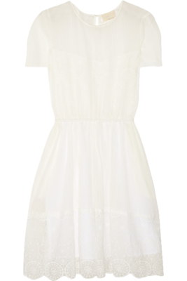 Lace-trim-dress-net-a-porter