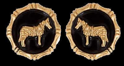 Zebra-earrings