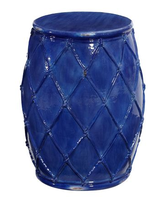 Net-ceramic-garden-stool-blue-pottery-barn