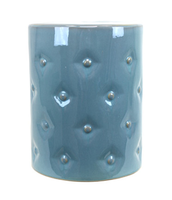 Tufted-ceramic-garden-stool-wayfair-blue