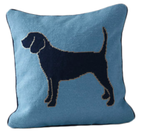 Needlepoint-dog-pillow