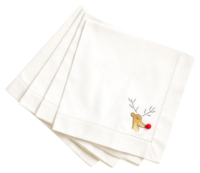 Wisteria-reindeer-cocktail-napkins