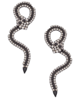 Elizabeth-cole-snake-earrings