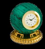 Malachite-clock
