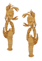 Lobster-earrings