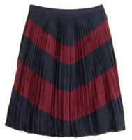Chevron-skirt