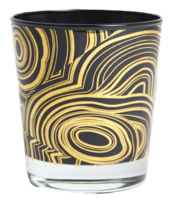 Malachite-glassware