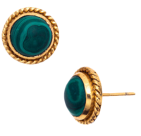 Lion-stone-stud-earrings