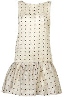 Spot-v-back-dress-topshop