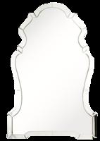 Mirror-zinc-door