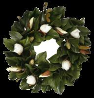 Magnolia-wreath