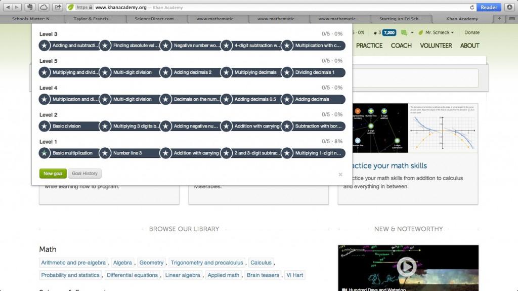 Khan Goals Screenshot