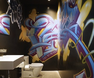 Fifteen Fantastic Graffiti Interiors