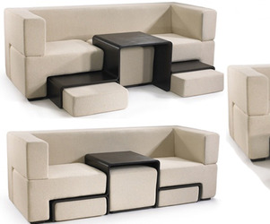  Slot  Sofa, Seating and Table in One 